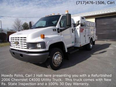 2006 Chevrolet C4500 Utility Truck