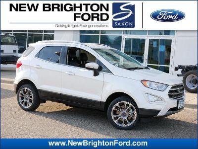 2018 Ford EcoSport Titanium (White Platinum Metallic Tri-Coat)