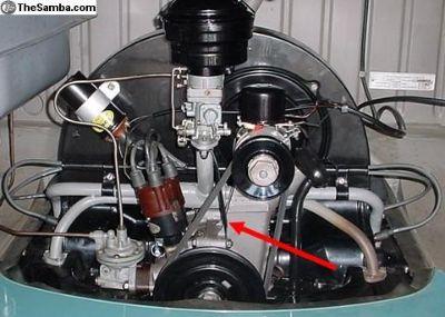 Intake Manifold Support Bracket - 36hp