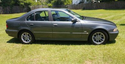 2003 BMW 5-Series 525i (Green,Light)