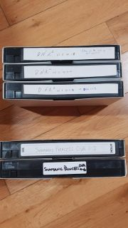 Animes DNA and Shamanic Princess Fansubbed VHS tapes complete series