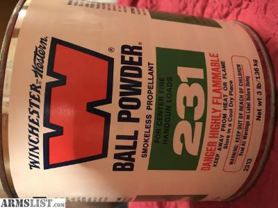 For Sale: Winchester Ball Powder 231