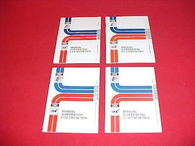 Find 1994 1995 1997 1998 OMC ELECTRIC OUTBOARD OPERATION MAINTENANCE MANUAL LOT OF 4 motorcycle in Leo, Indiana, US, for US $9.99