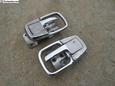 Volkswagen Beetle Chrome Door Handle+Collars