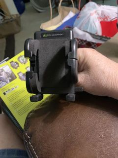 Grip-it vent mount for your cell phone. I used a couple days. I need a mount higher then the vent.