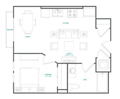 $7080 1 apartment in Alameda County