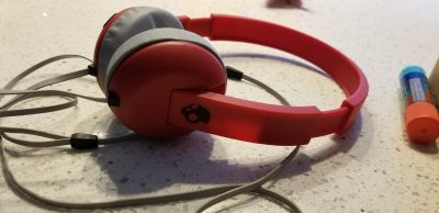 Headphones they work perfectly but the seal is coming undone maybe easy fix. Free with purchase of kids movies