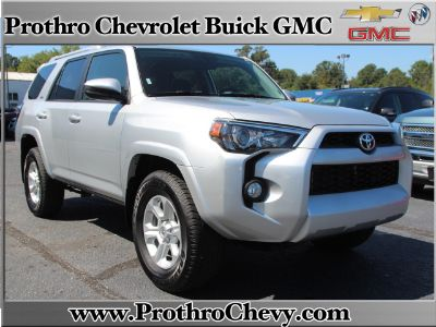 2017 Toyota 4Runner Limited (silver)