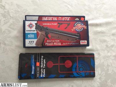 For Sale: Pellet Pistol