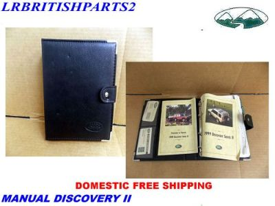 Purchase LAND ROVER OWNER MANUAL DISCOVERY II 2 1999 motorcycle in Miami, Florida, United States, for US $35.00