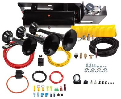 Sell Kleinn Air Horns SDKIT-234 Ultimate Train Horn And Onboard Air System motorcycle in Chanhassen, Minnesota, United States, for US $1,075.74