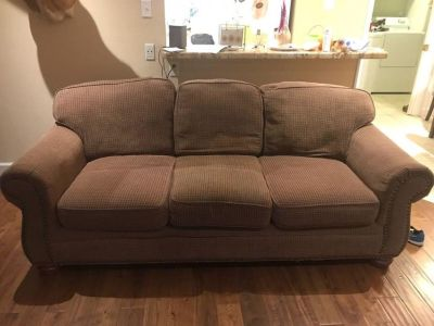 2 sofas for man cave