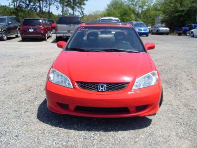 2005 Honda Civic EX (RED)