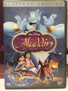 Brand New Aladdin Special Edition DVD