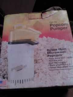 Popcorn maker,Hot air