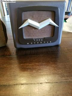 1954 504 Motorola Speaker and Head