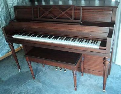 $699 STEINERT CONSOLE PIANO-FREE DELIVERY TO 1st FLOOR IN NEW ENGLAND-FREE TUNING