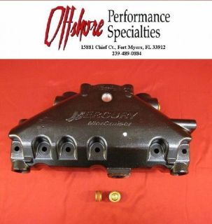 Purchase NEW OEM MERCRUISER V6/ 4.3L Exhaust Manifold 864612T01 Dry Joint motorcycle in Fort Myers, Florida, United States, for US $289.00