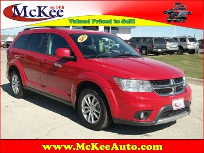 2013 Dodge Journey SXT (Bright Red Clear Coat)