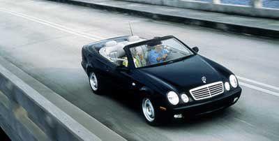 1999 Mercedes-Benz CLK-Class CLK320 (Silver)