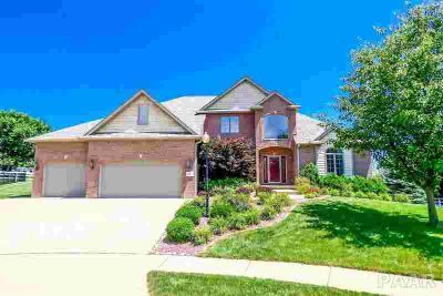 5801 W Ivybridge Peoria Five BR, Gorgeous 1/2 acre lot in Dunlap