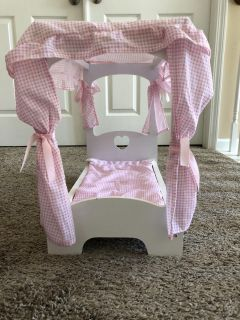 18 doll bed