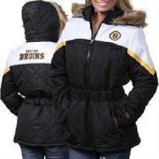 $90 Lady's Medium Boston Bruins Coat