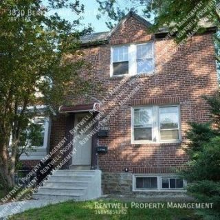 2 Bedroom 1 Bath 1st flr. $995 3830 Berkley Ave. Drexel Hill, PA 19026