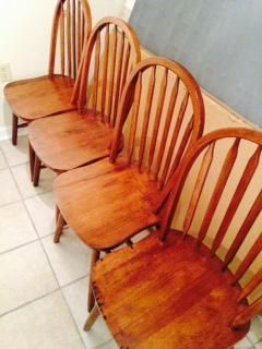 $125, Kitchen Table with 4 Chairs