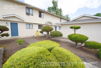 Super Clean Unit, Two Story 2/1.5 Townhome, Large Unattached Garage, Patio & W/D Connections!