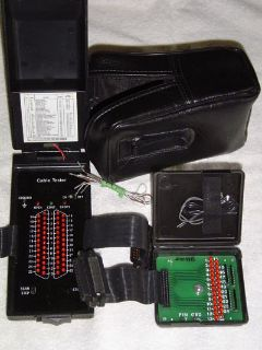 Test Equipment for Network, Coax, Telephone Cabling & Data Analysis