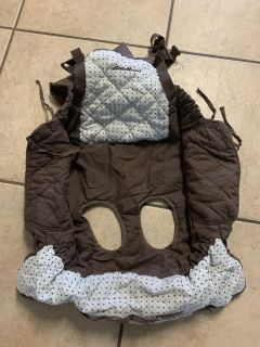 Grocery cart cover / high chair cover
