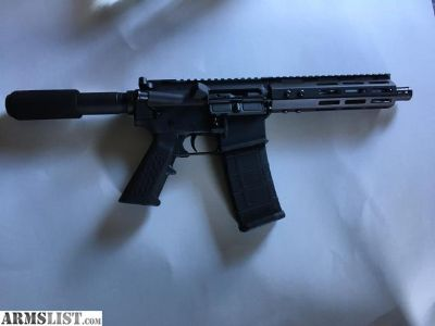 For Sale: Ar-15 pistol mlok fedarms