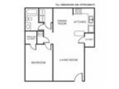 Olympic Village Apartments - 1A Floor Plan