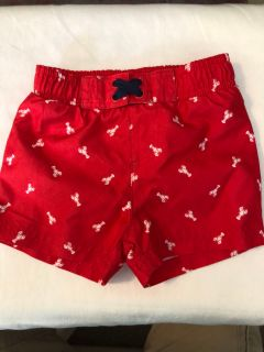 Lobster Bathing Suit Toddler boy 12m