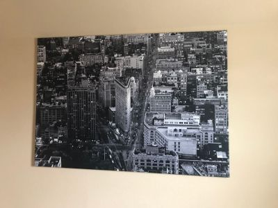 Large New York picture from IKEA