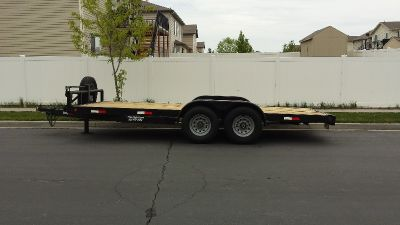 18' Trailer Flatbed HD 14,000 lbs. GVWR