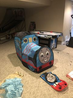 Thomas the train playhouse and costume