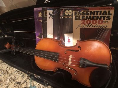 German Full Size Violin Outfit