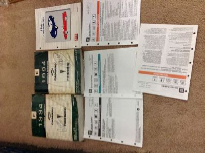 Buy 1994 CHEVY CAMARO PONTIAC FIREBIRD Service Shop Repair Manual Set W LOTS OEM motorcycle in Sterling Heights, Michigan, United States, for US $44.99