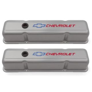 Buy GM 141-361 Bowtie SB Chevy Gray Valve Covers, Tall motorcycle in Suitland, Maryland, US, for US $78.83