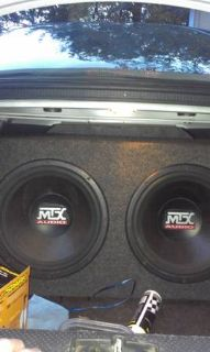 2 12in mtx subs and kicker