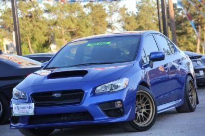 2015 Subaru WRX 4dr Sdn Man