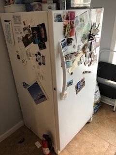 Frigidaire 14 cu.ft upright freezer