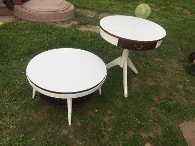 Gorgeous refinished tables