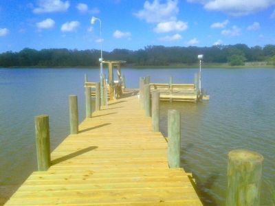 $lowest price in town$ CUSTOM DECKS, DOCKS, PIERS AND CARPENTRY