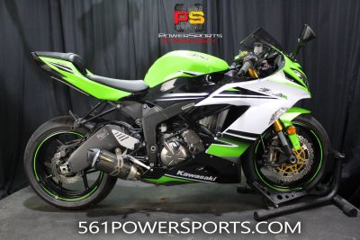 2015 Kawasaki Ninja ZX -6R ABS 30th Anniversary Supersport Lake Park, FL