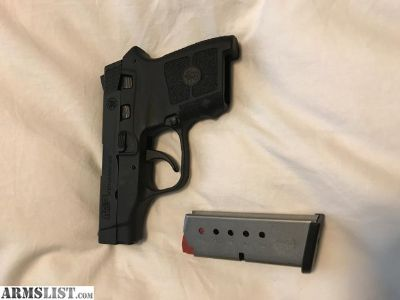 For Sale: SMITH & WESSON M&P BODYGUARD .380 W/O LASER