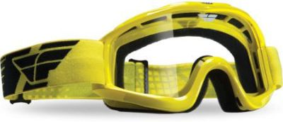 Sell Fly Racing Yellow Focus Adult Helmet Goggles Dirt Bike MX motorcycle in Ashton, Illinois, US, for US $17.95
