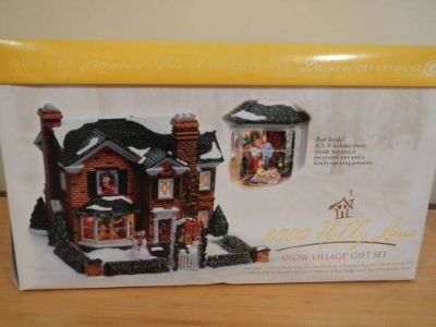 DEPT. 56 HUGE SNOW VILLAGE COLLECTION